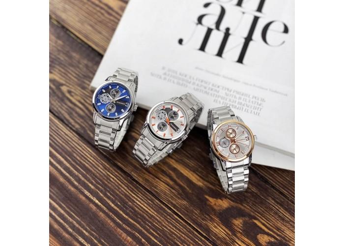 Женские часы Guardo 011944-1 Silver-Blue