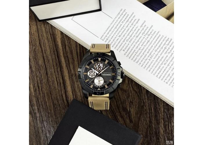 Мужские часы Guardo S01630-6 Brawn-Black