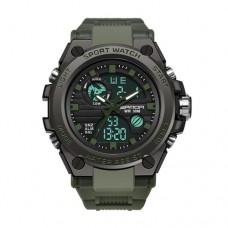 Мужские часы Sanda 739 Green-Black