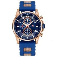 Мужские часы Mini Focus MF0268G Blue-Cuprum