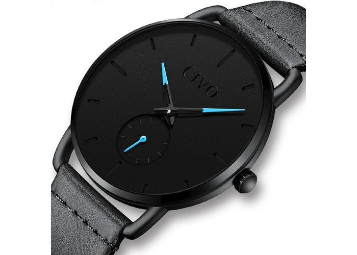 Мужские часы Chronte Bruce Black-Light Blue