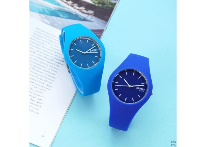 Женские часы Skmei 9068 Light-Blue