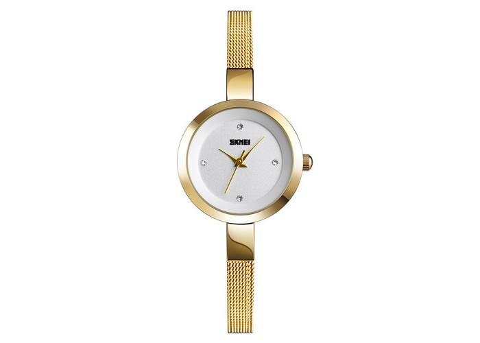 Женские часы Skmei 1390 Gold-White