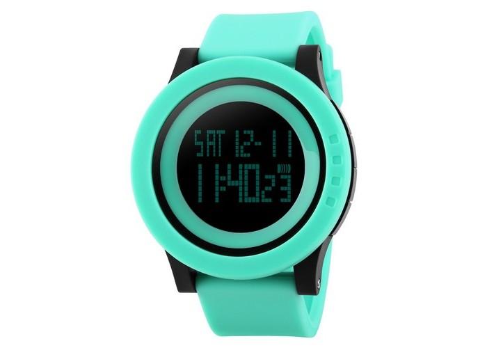 Женские часы Skmei 1142 Green-Black