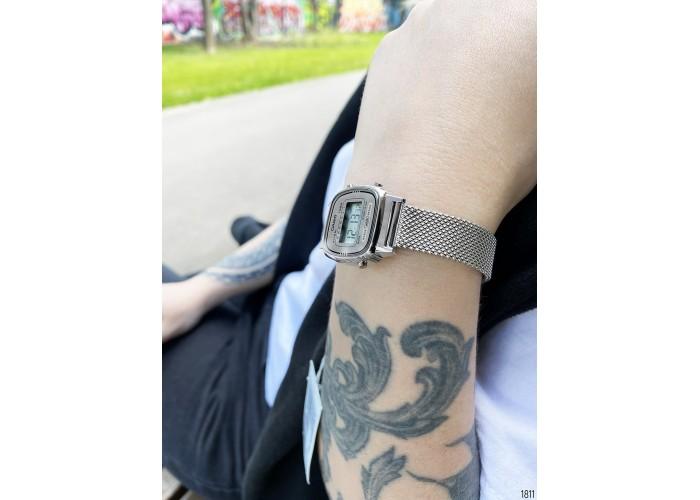 Женские часы Мужские часы Casio LA670WEM-7EF All Silver