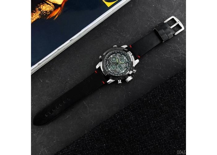 Мужские часы AMST 3022P Silver-Black Smooth Wristband