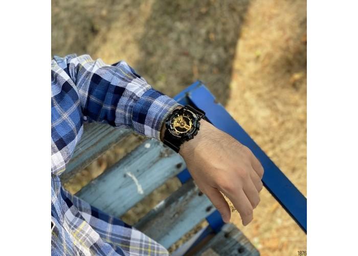 Мужские часы Casio GA-110GB-1AE Black-Gold