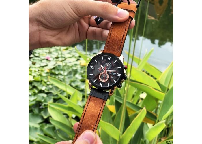 Мужские часы Curren 8346 Brown-Cuprum-Black