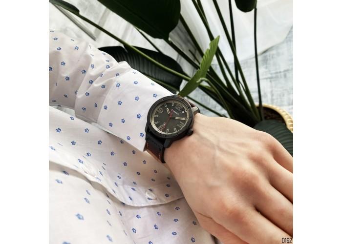 Мужские часы Curren 8327 Black-Brown