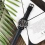Мужские часы Guardo 012313-5 All Black
