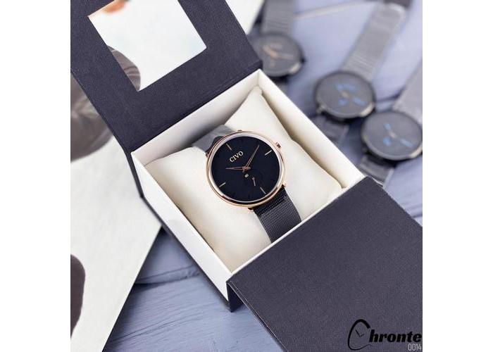 Мужские часы Chronte Bradley Black-Cuprum