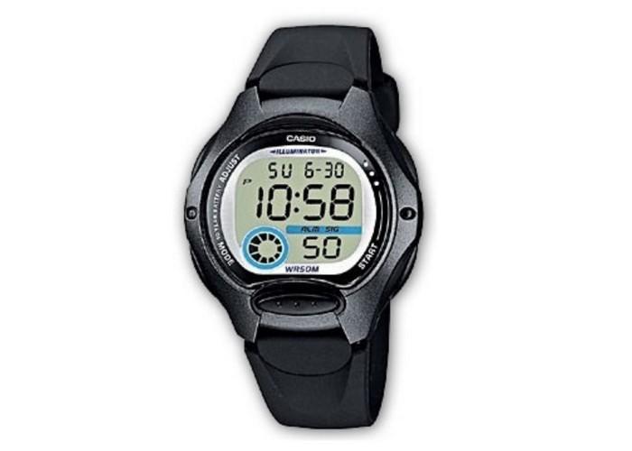 Женские часы Casio LW-200-1BVEF All Black