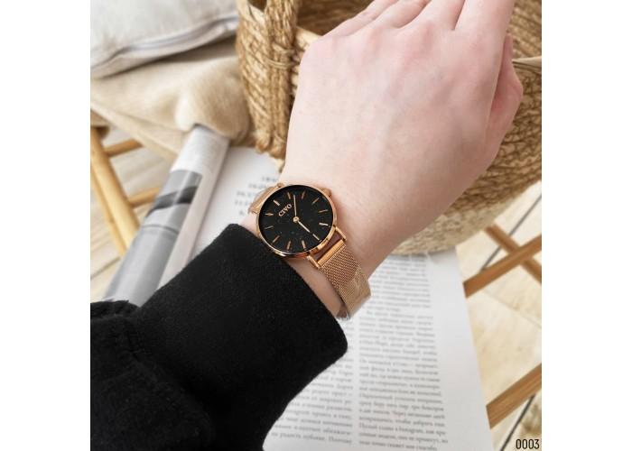 Женские часы Chronte Meryl Cuprum-Black Shine