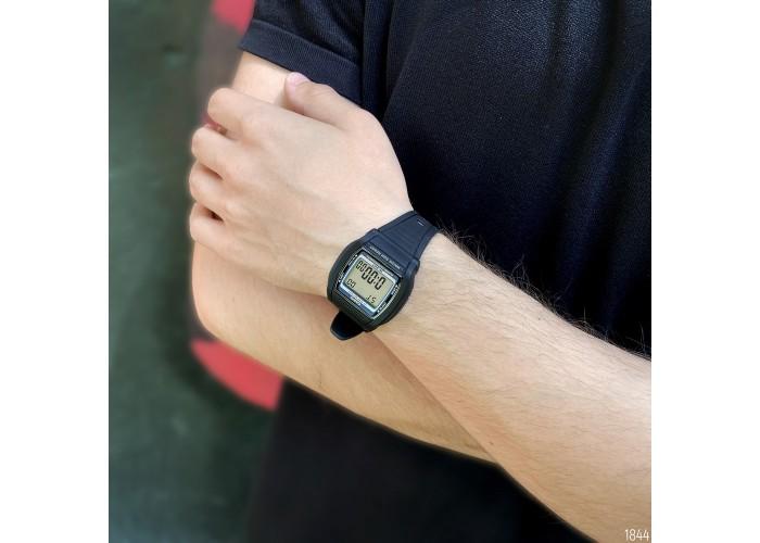 Мужские часы Casio W-201-1AVEF All Black