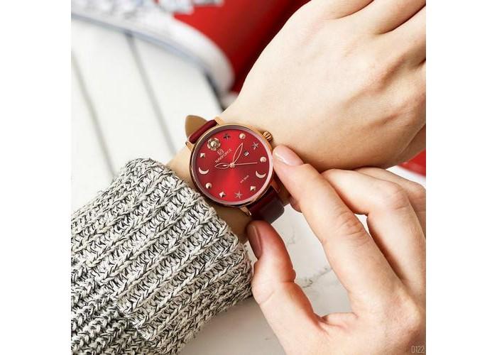 Женские часы Naviforce NF5009 Red-Cuprum