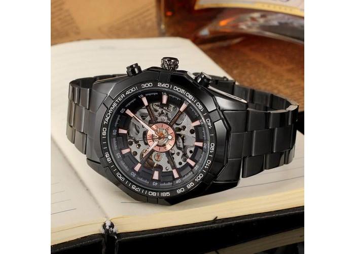 Мужские часы Forsining 8042 All Black