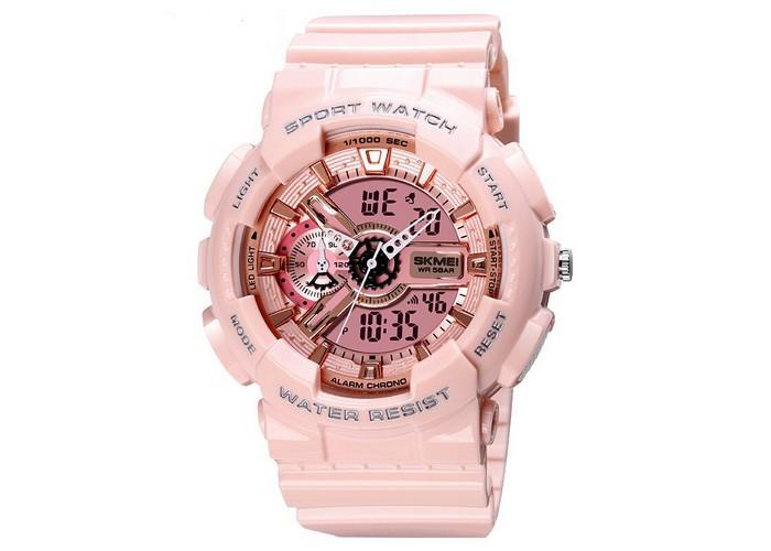 Женские часы Skmei 1688 Pink-Cuprum
