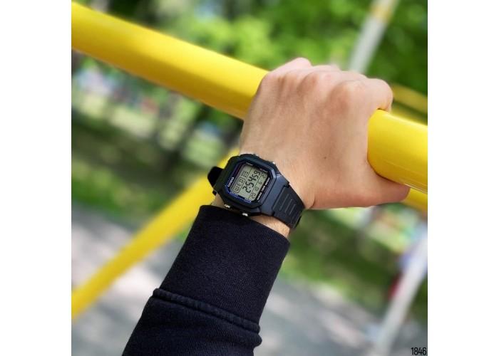 Мужские часы Casio W-800H-1AVEF All Black