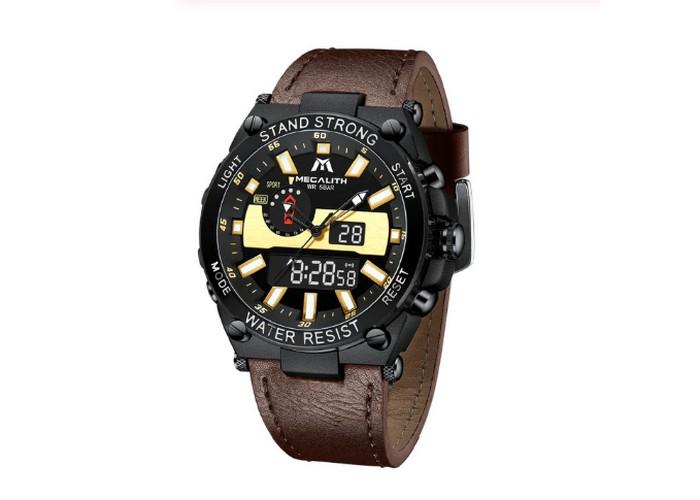 Мужские часы Chronte Channing Brown-Gold-Silver