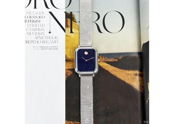 Женские часы Skmei 9187 Silver-Blue