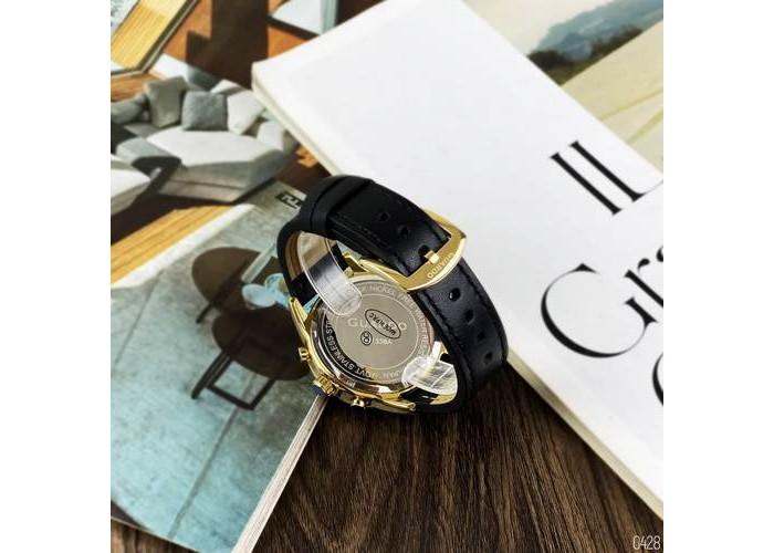 Мужские часы Guardo B01338-3 Black-Gold