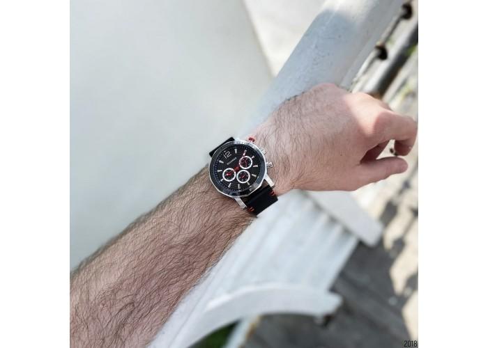 Мужские часы Guardo 11253-1 Black-Silver
