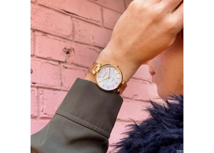 Женские часы Mini Focus MF0224L Gold-White