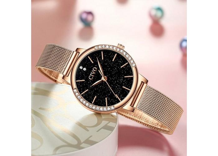 Женские часы Chronte 8115C Cuprum-Black