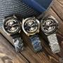 Мужские часы Curren 8360 Black-Gold
