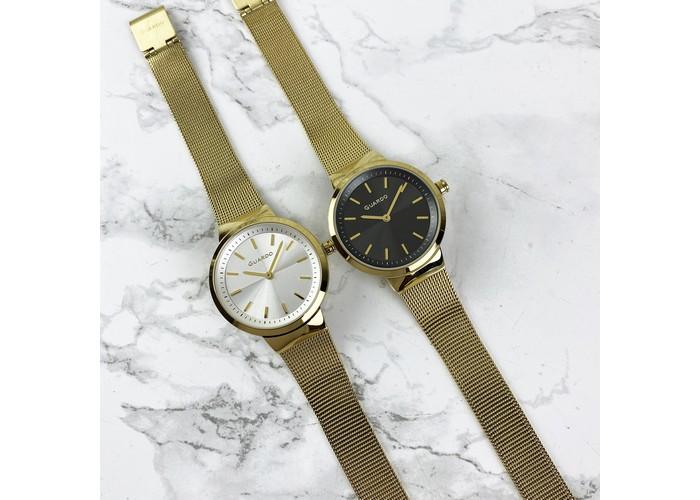 Женские часы Guardo B01281-4 Gold-White
