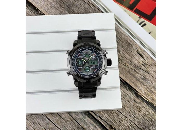 Мужские часы AMST 3022 Metall All Black