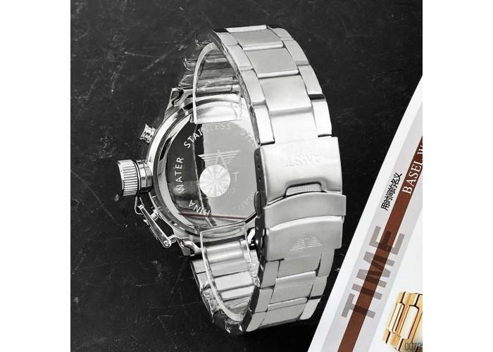 Мужские часы AMST 3003M All SilverMetall