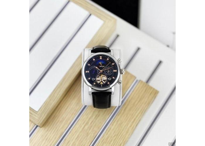 Мужские часы Brucke J025 Black-Silver