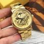 Мужские часы Forsining 8177 All Gold