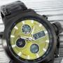 Мужские часы AMST 3003M Black-Green Metall