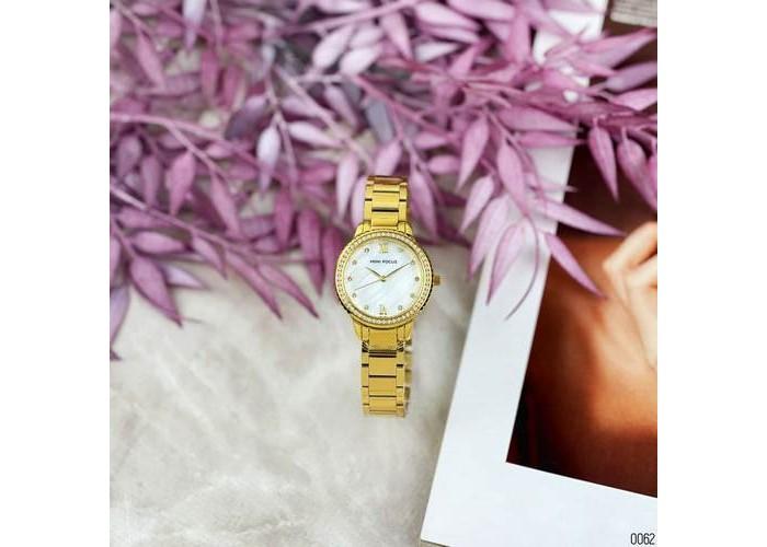 Женские часы Mini Focus MF0226L Gold-White Diamonds