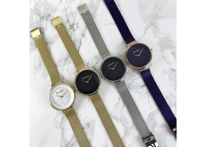 Женские часы Guardo 012439-3 Gold-Black