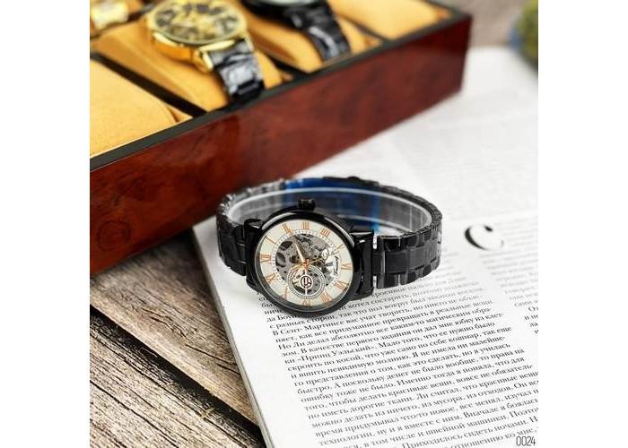 Мужские часы Chronte 412C Black-White