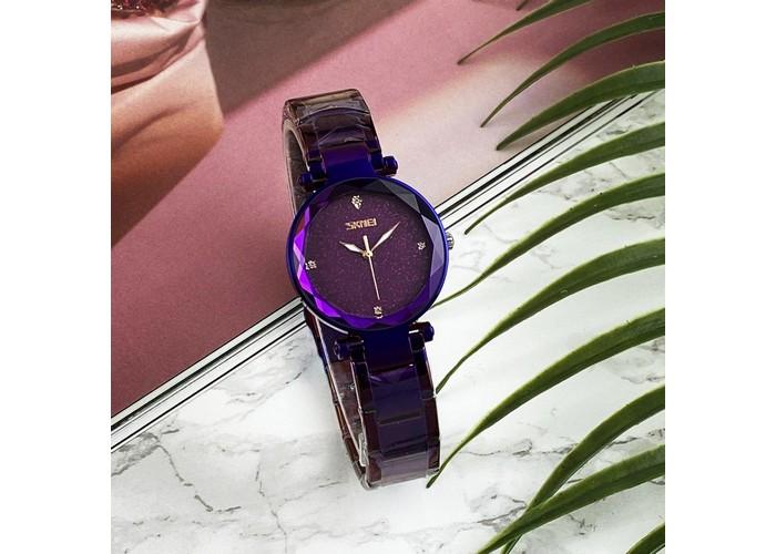 Женские часы Skmei 9180 All Violet