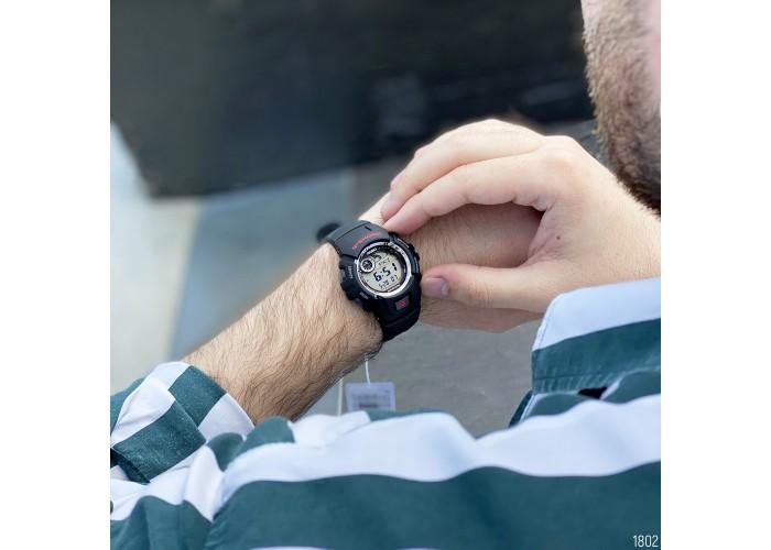 Мужские часы Casio G-2900F-1VER Black-Silver