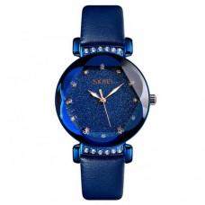 Женские часы Skmei 9188 Blue Diamonds
