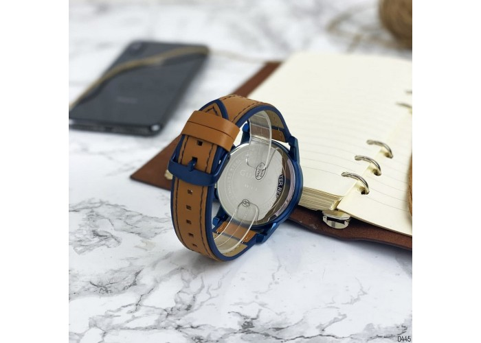 Мужские часы Guardo 007576-4 Brown-Blue