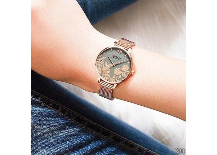 Женские часы Curren 9065 Cuprum-Gray