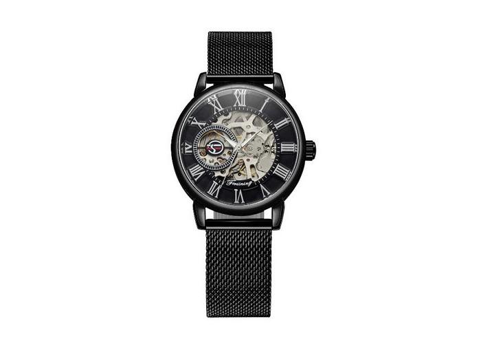 Женские часы Chronte 412 Black-Silver