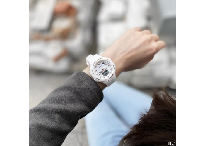 Женские часы Sanda 6005 White-Cuprum