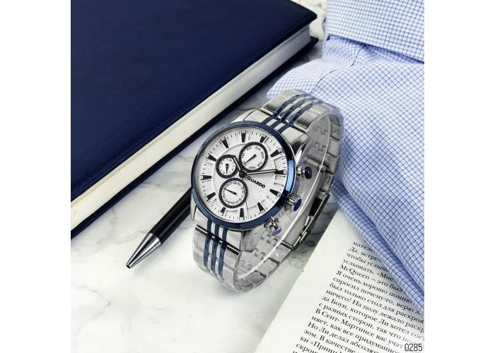 Мужские часы Guardo 011653-2 Silver-Blue-White