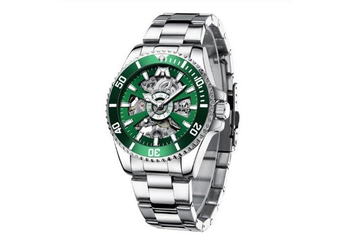 Мужские часы Chronte Robert Silver-Green