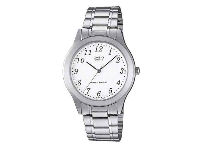 Мужские часы Casio MTP-1128A-7BEF All Silver