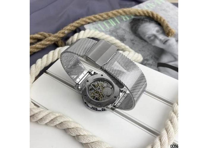 Женские часы Forsining GMT1201 Silver-Black