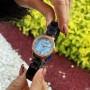 Женские часы Mini Focus MF0226L Blue-Gold Diamonds